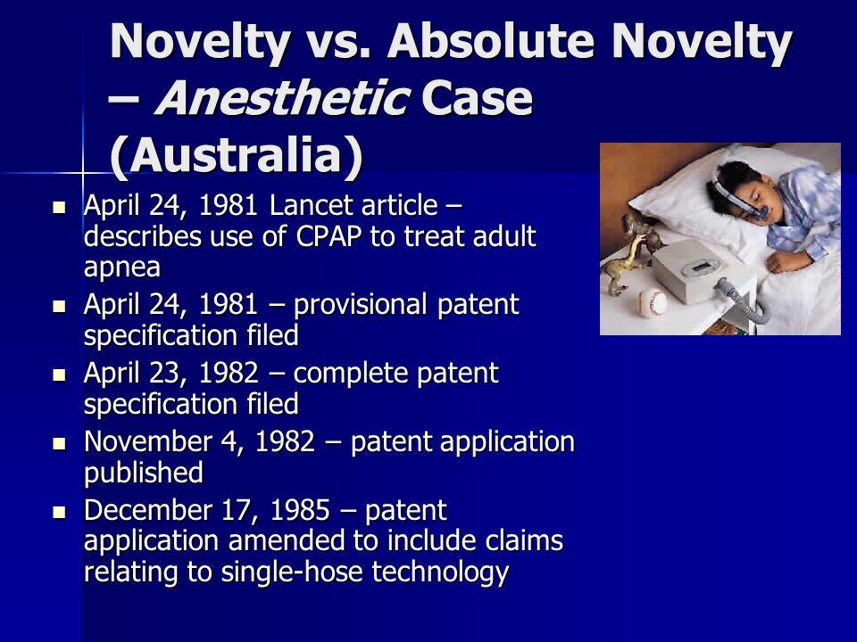 Novelty vs.