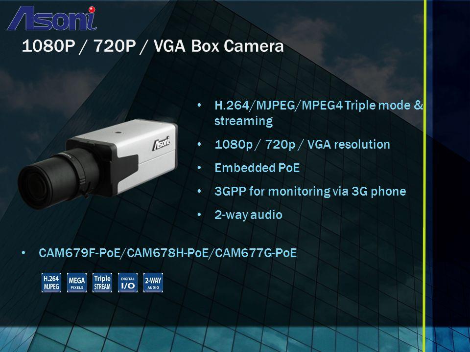 1080P Bullet Camera H.264/MJPEG/MPEG4 Triple mode & streaming 1080P Resolution IR-80M IP66 Vari-focal lens CAM667FIR-80M/