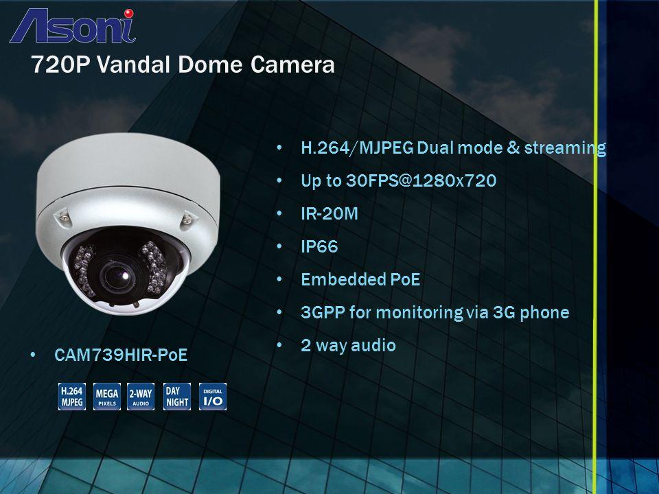 D1 36X PTZ Camera CAM656SICR-PoE H.264/MJPEG/MPEG4 Triple mode & streaming D1 CCD Sensor PTZ 36X WDR 520 TV Lines Embedded PoE