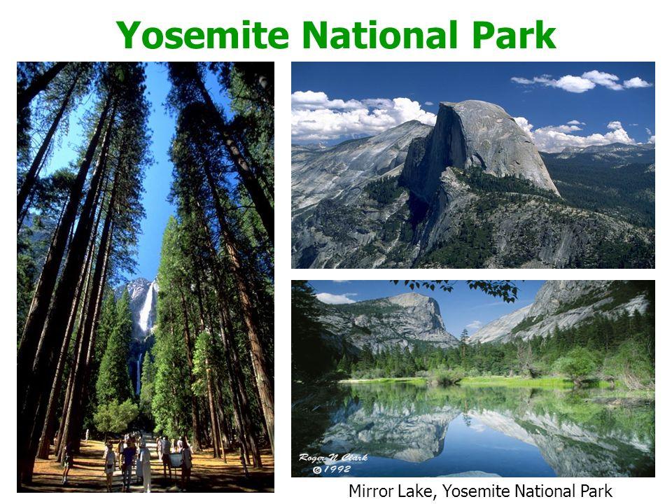 Yosemite National Park Mirror Lake, Yosemite National Park