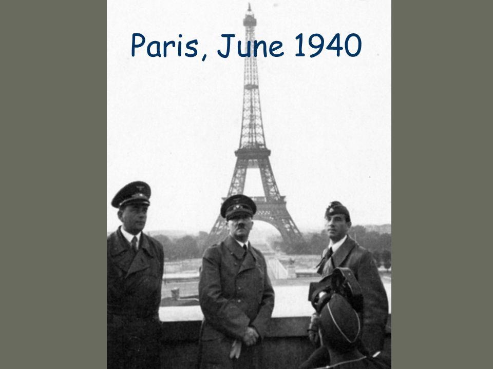 Paris, June 1940