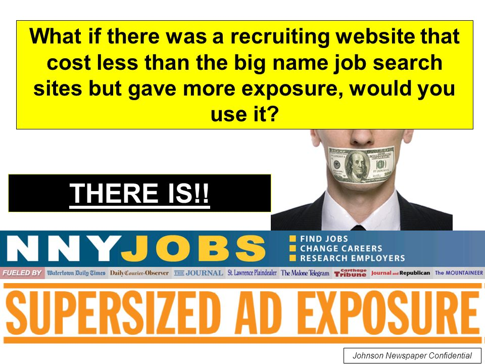 What if there was a recruiting website that cost less than the big name job search sites but gave more exposure, would you use it.