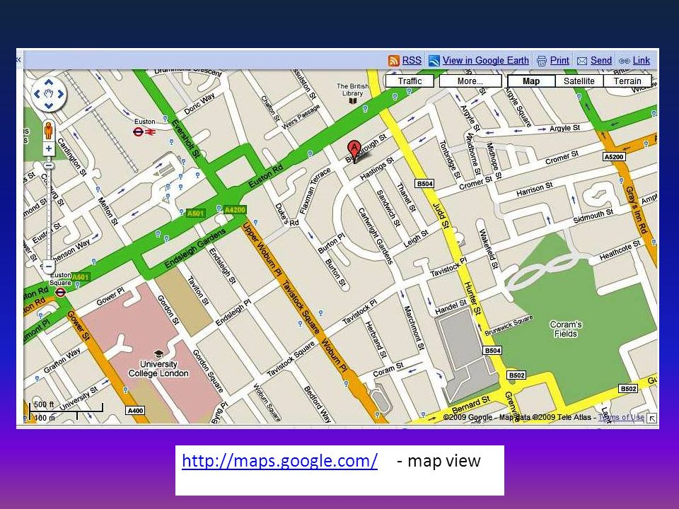 http://maps.google.com/http://maps.google.com/ - map view