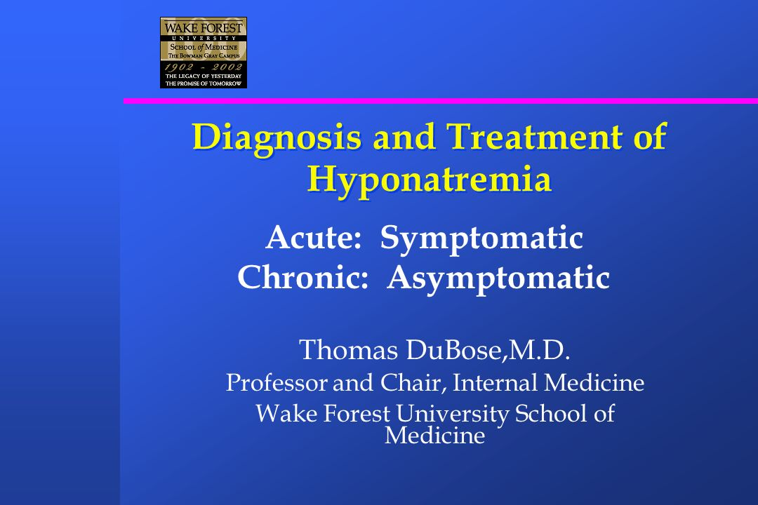 Disorders Associated With SIADH Carcinomas Pulmonary disorders Central nervous system disorders