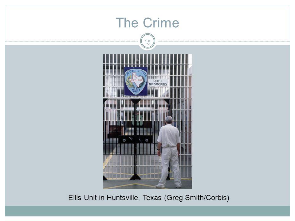 The Crime Ellis Unit in Huntsville, Texas (Greg Smith/Corbis) 15