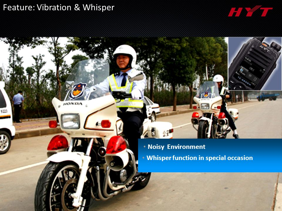 Noisy Environment Whisper function in special occasion Feature: Vibration & Whisper