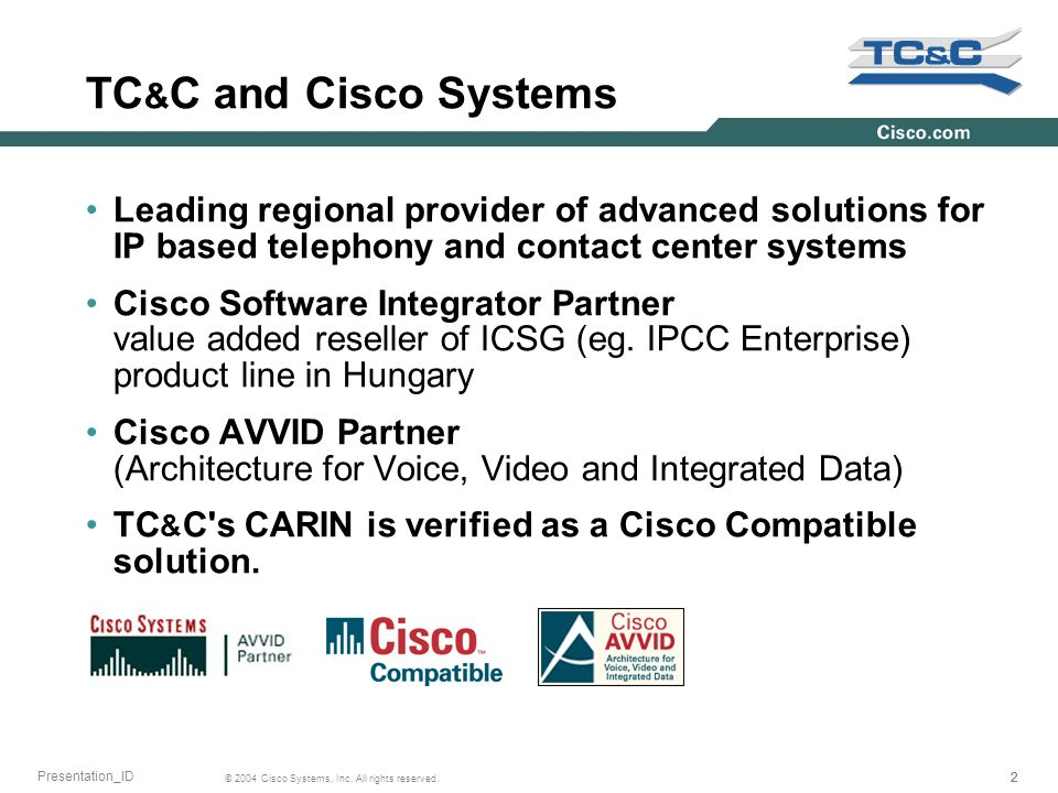 222 © 2004 Cisco Systems, Inc. All rights reserved.