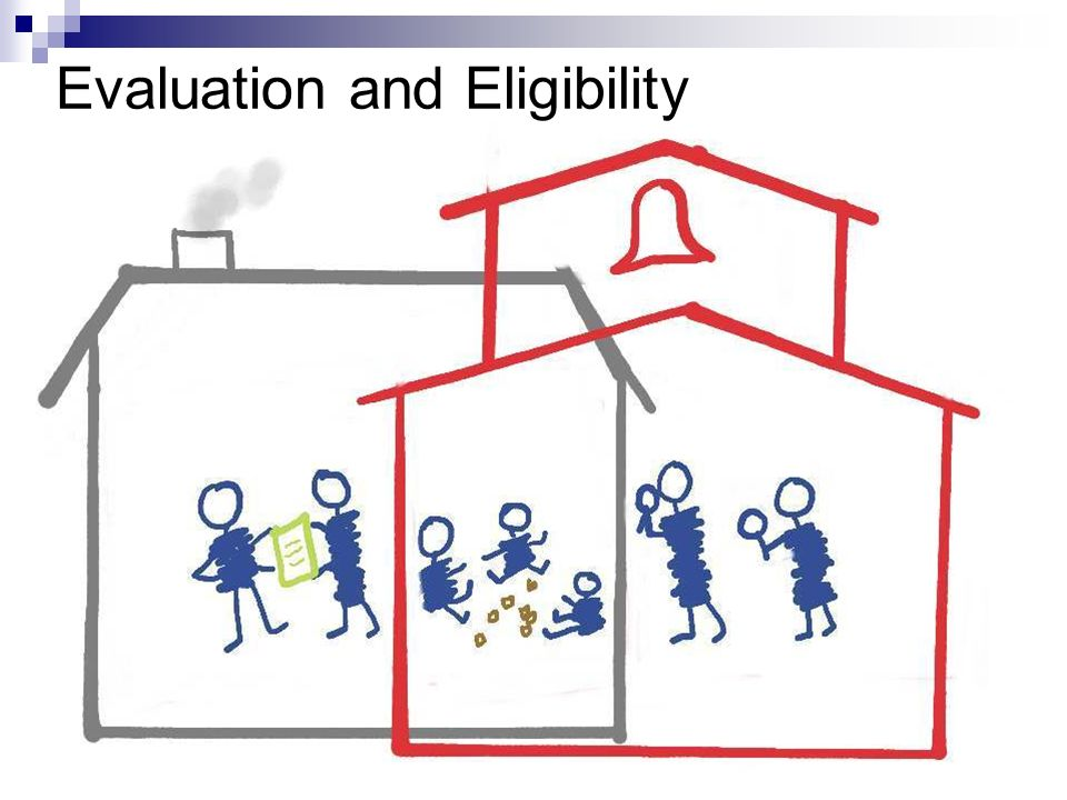Evaluation and Eligibility