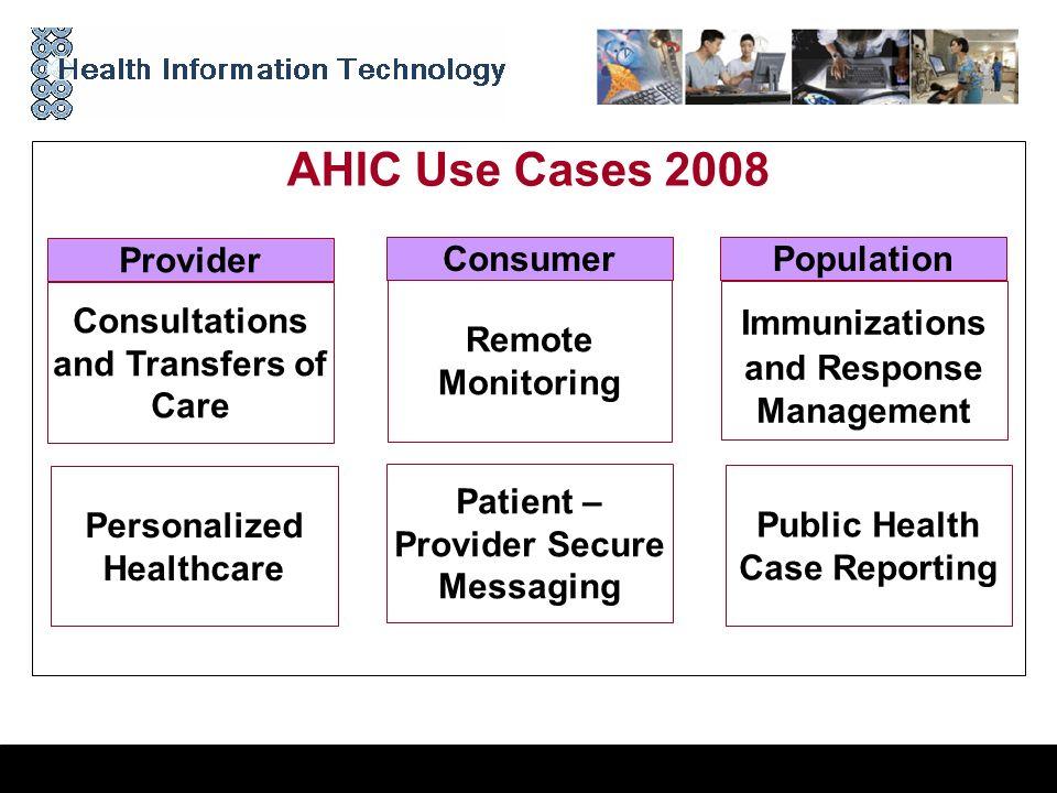0 Report from the Technical Committees Arlington, VA | October 6, 2008 Presented by: Joyce Sensmeier MS, RN-BC, CPHIMS, FHIMSS HITSP Technical Committ