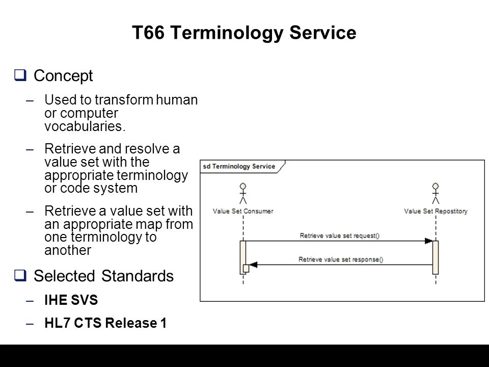 51 T64 Identify Communication Recipients Concept –Identification of communication recipients –Delivery of alerts and bi- directional communications (e