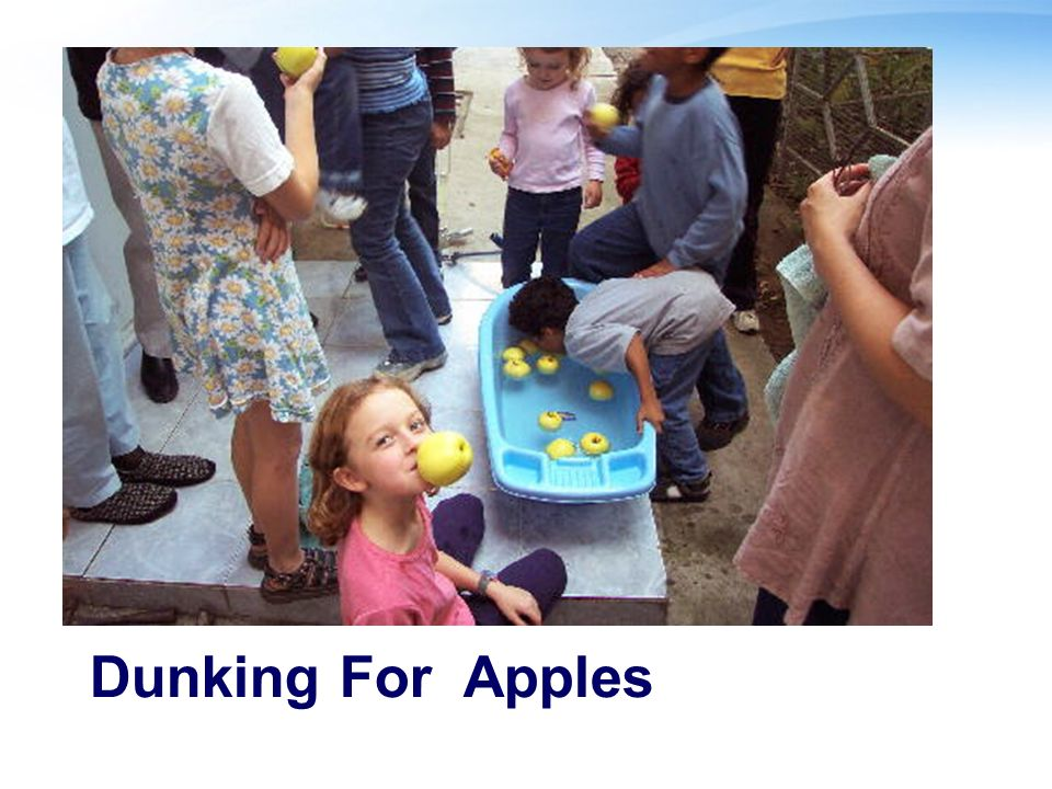 Dunking For Apples