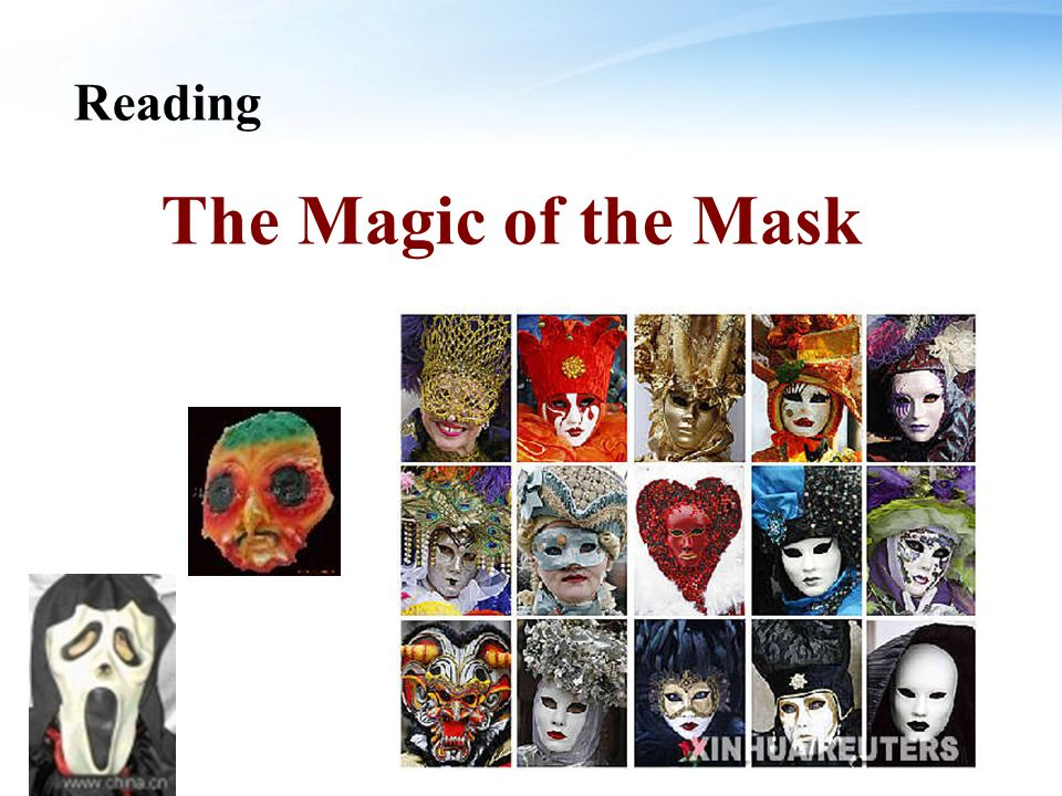 Reading The Magic of the Mask