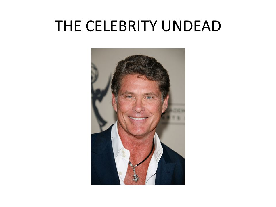 THE CELEBRITY UNDEAD