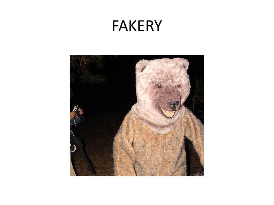 FAKERY