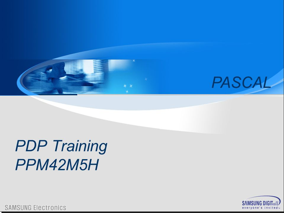 PDP Training PPM42M5H PASCAL