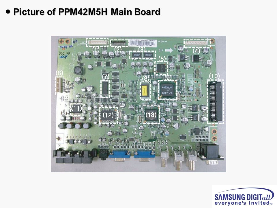 Picture of PPM42M5H Main Board Picture of PPM42M5H Main Board