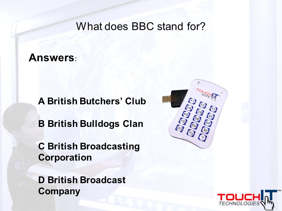 What does BBC stand for.