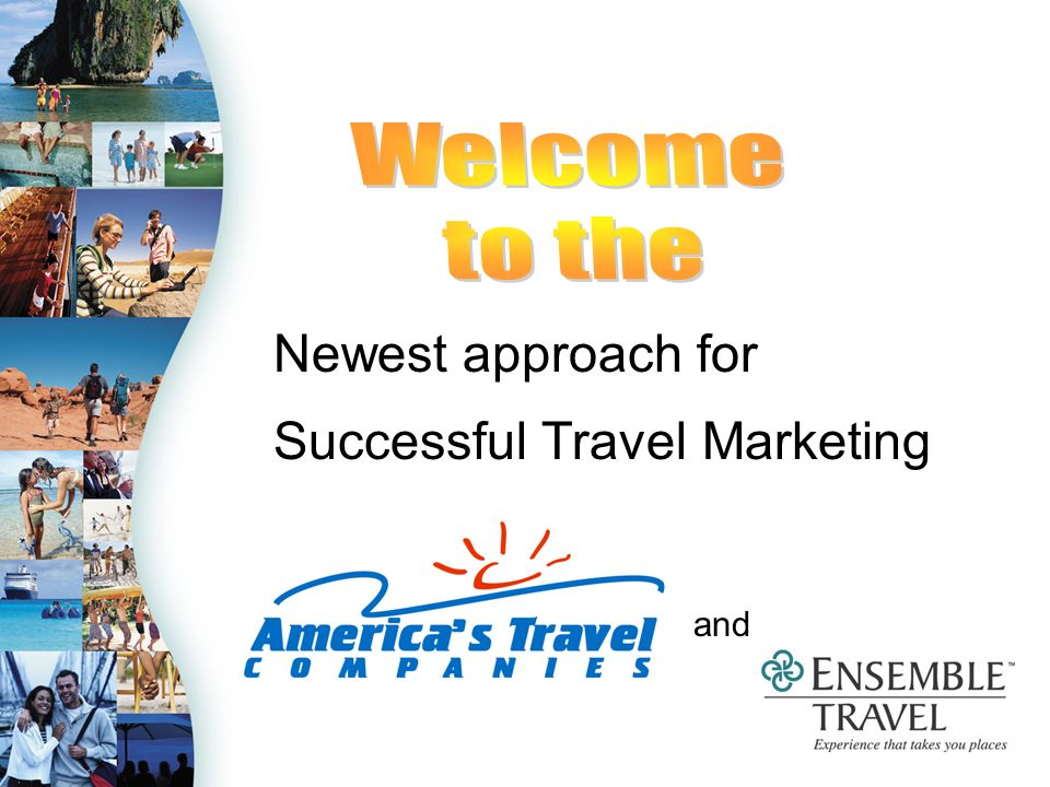 Tips to Sell By The 2005 Ensemble Travel Marketing Program