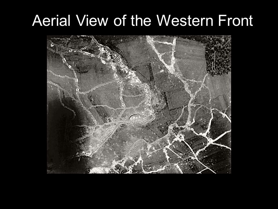 Aerial View of the Western Front
