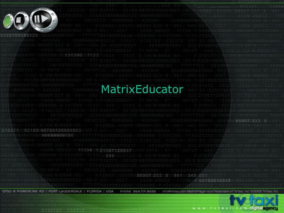 MatrixEducator