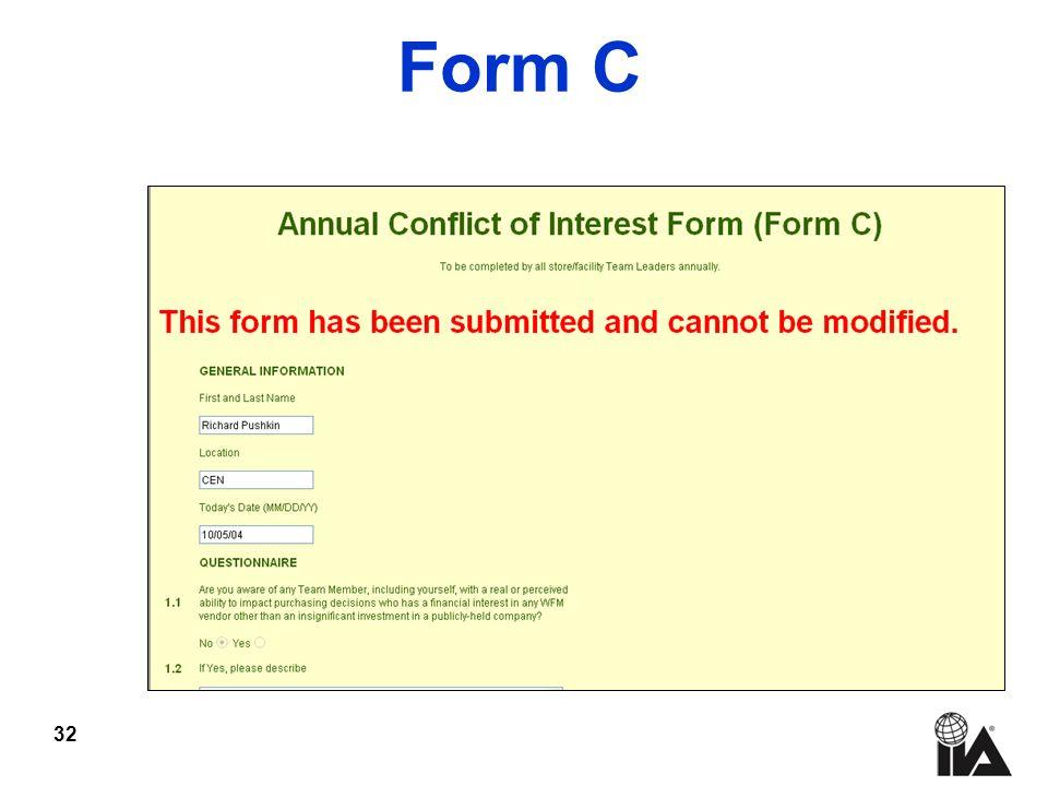 32 Form C