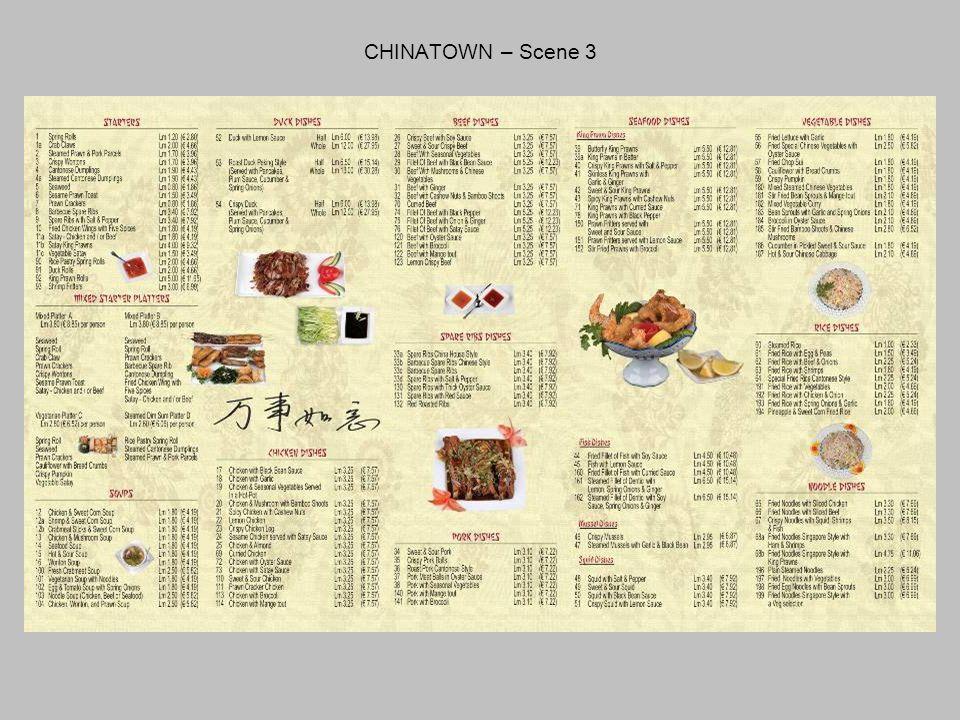 CHINATOWN – Scene 3