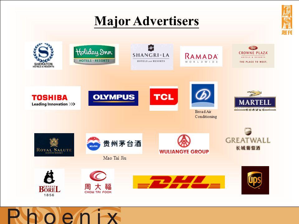 Major Advertisers Mao Tai Jiu Broad Air Conditioning