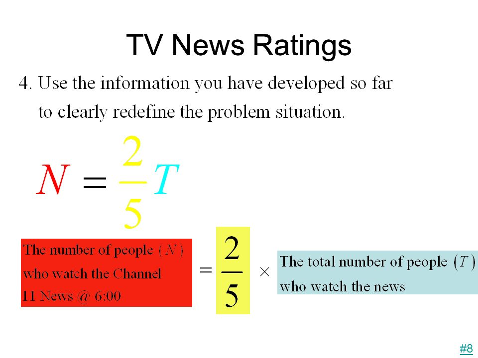 TV News Ratings #8