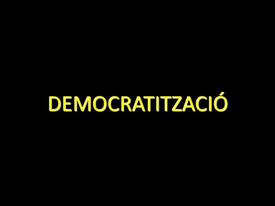 DEMOCRATITZACIÓ