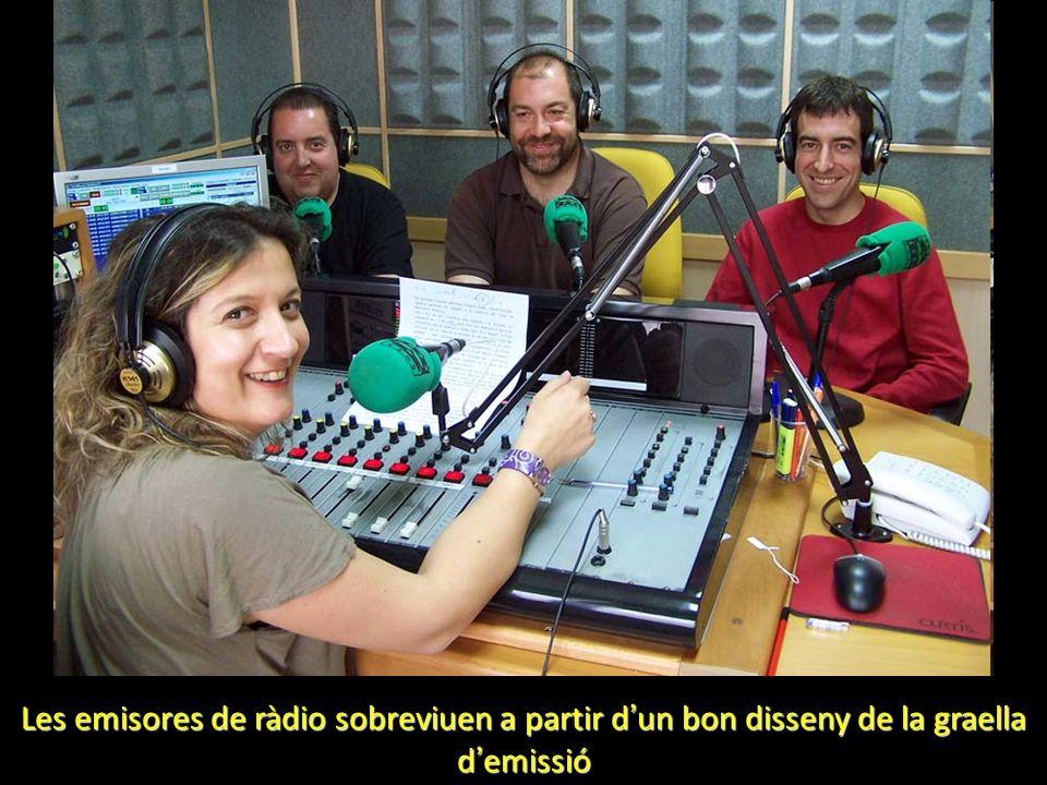 Les emisores de ràdio sobreviuen a partir d un bon disseny de la graella d emissió