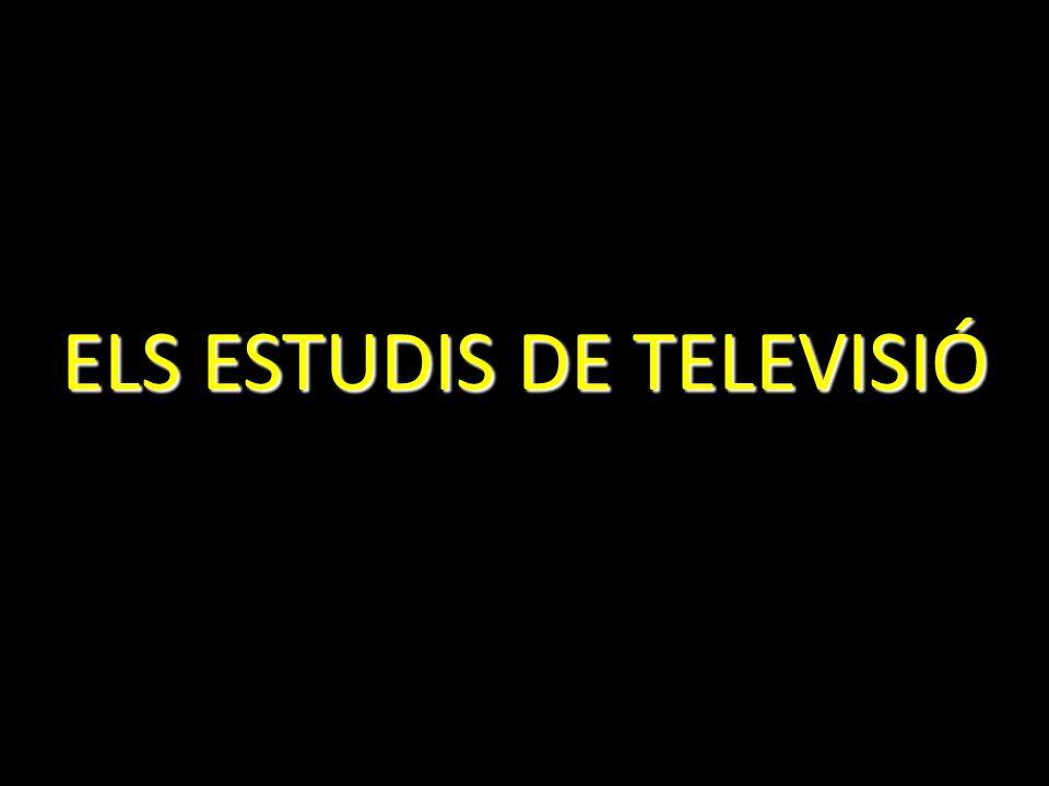 ELS ESTUDIS DE TELEVISIÓ