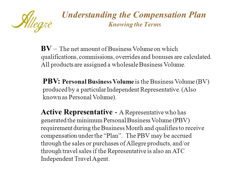 Compensation Plan Seven North American families benefit from all the travel sold through your organization.