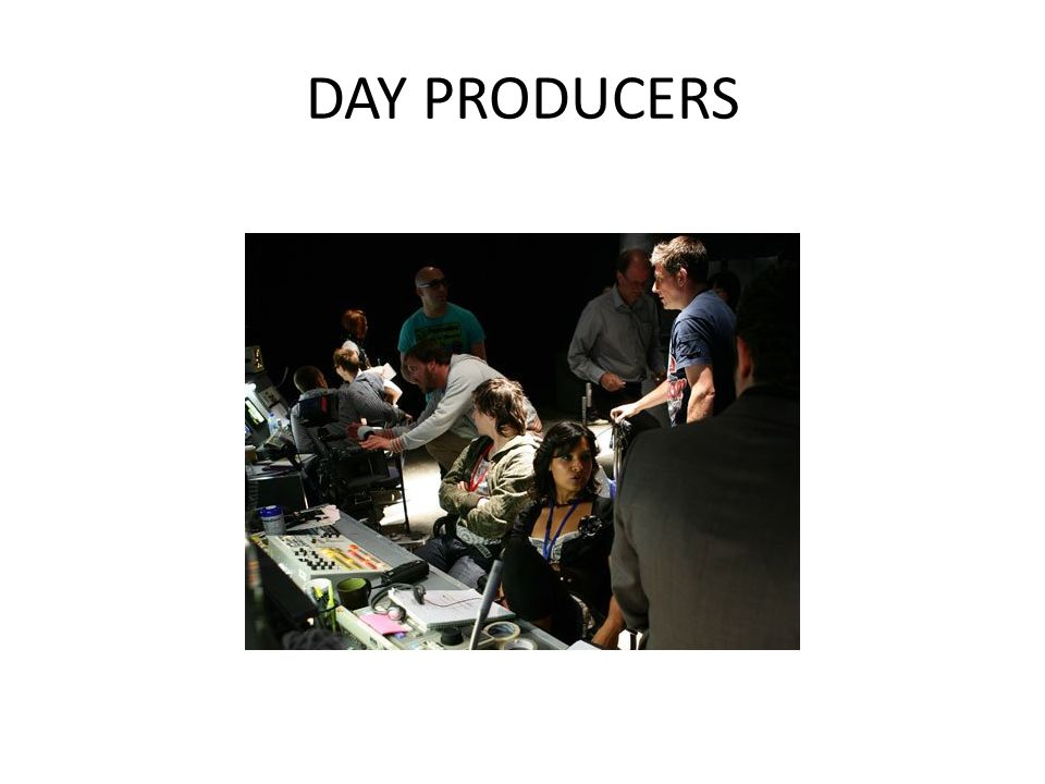 DAY PRODUCERS