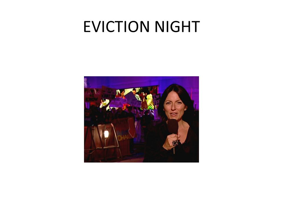 EVICTION NIGHT