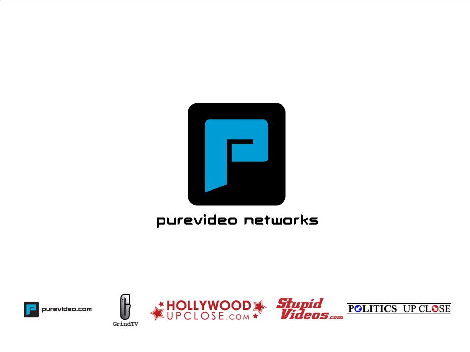 Proprietary and Confidential30 Strategic Partnerships Content, technology and distribution partners recognize the value of PureVideos brands, content and audience