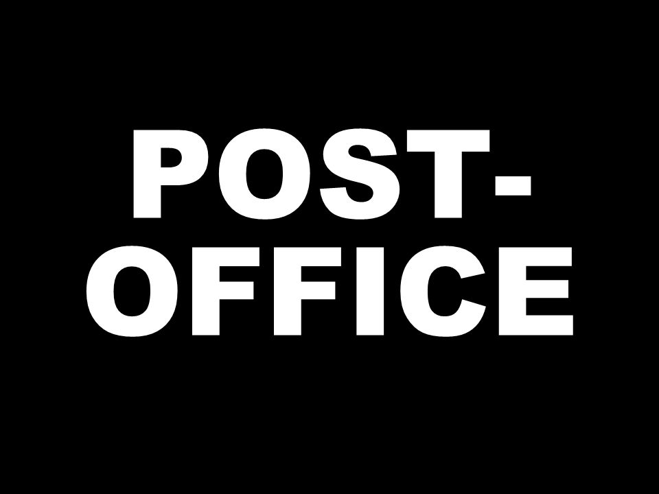 POST- OFFICE