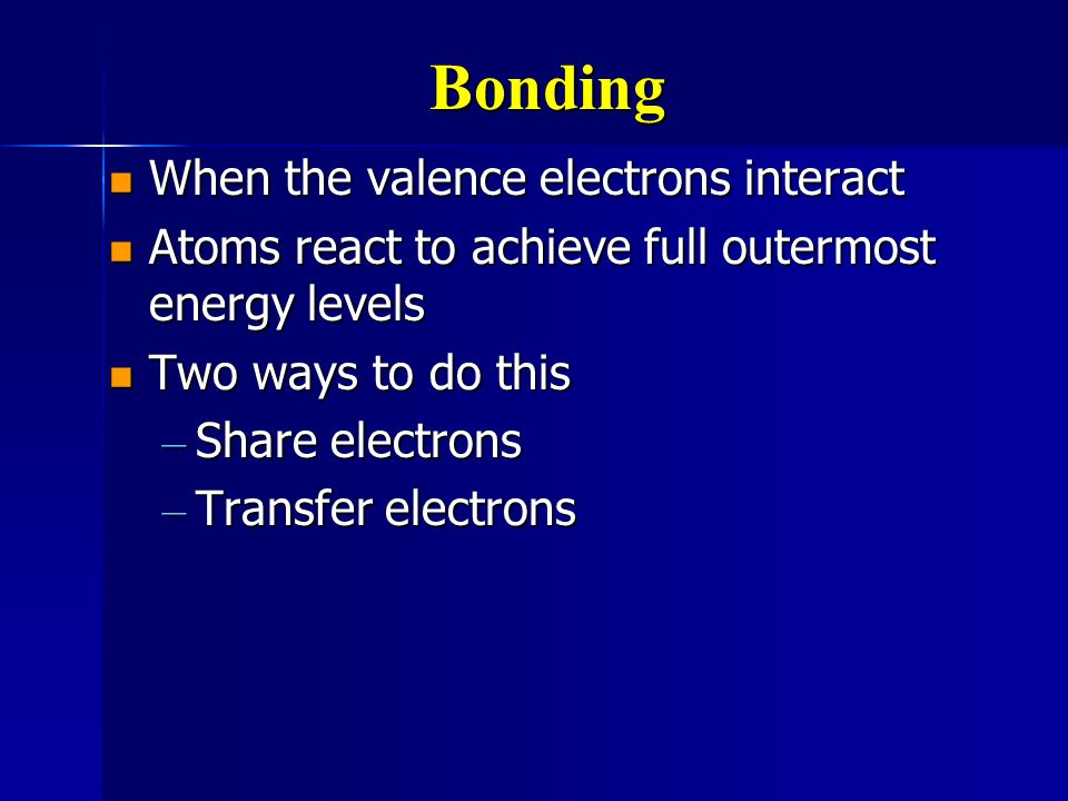 Molecules Specific atoms joined together Specific atoms joined together Weaker attractions than ions. Weaker attractions than ions. Low melting and bo