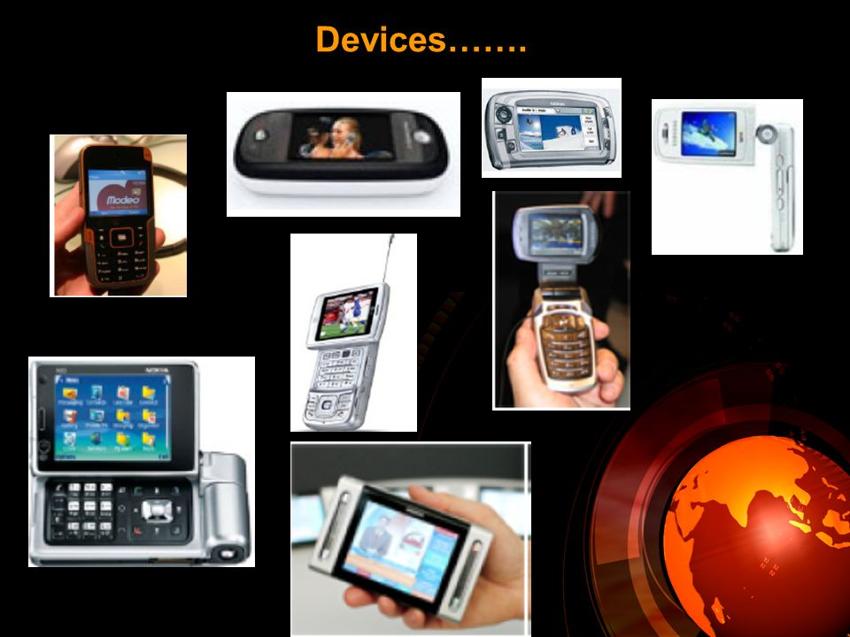 Devices…….
