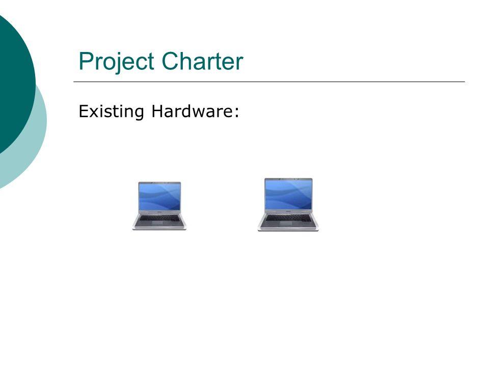 Existing Hardware: