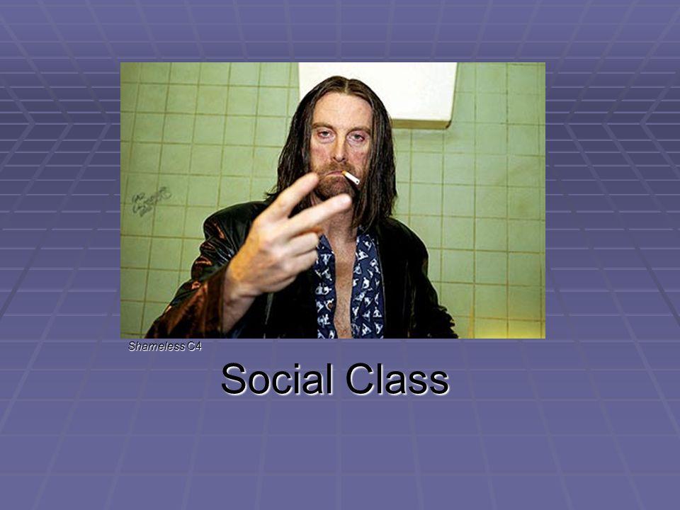 Social Class Shameless C4
