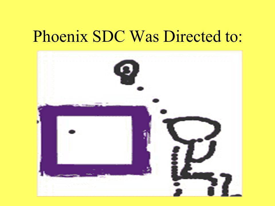 Phoenix SDC Was Directed to: