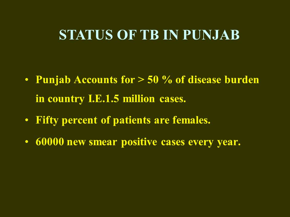Prevention for MDR TB (Contd.) Early case detection of primary MDR cases.