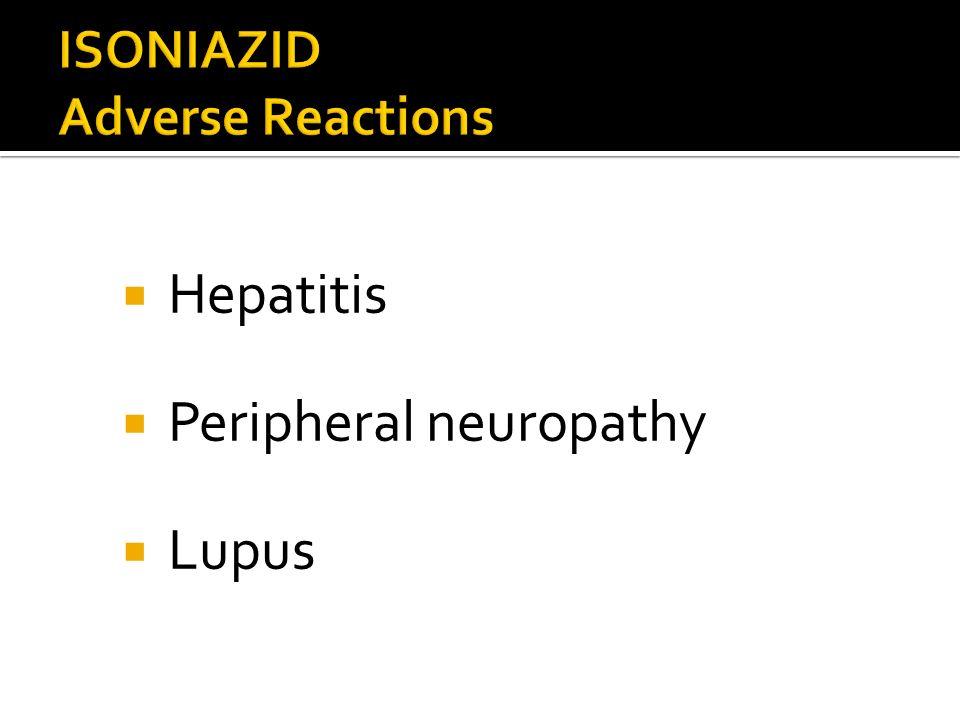 Hepatitis Peripheral neuropathy Lupus
