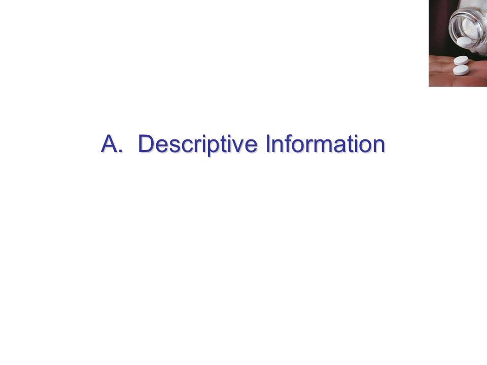 A.Descriptive Information
