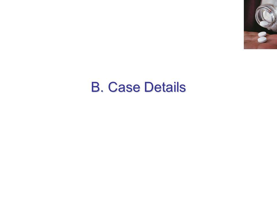 B. Case Details