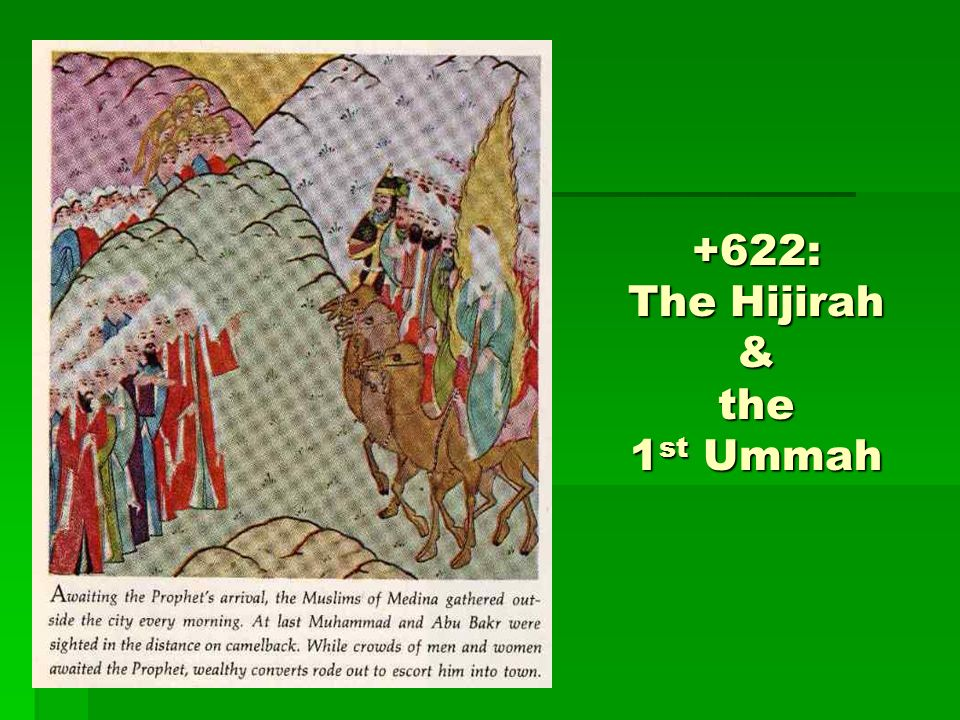 +622: The Hijirah & the 1 st Ummah