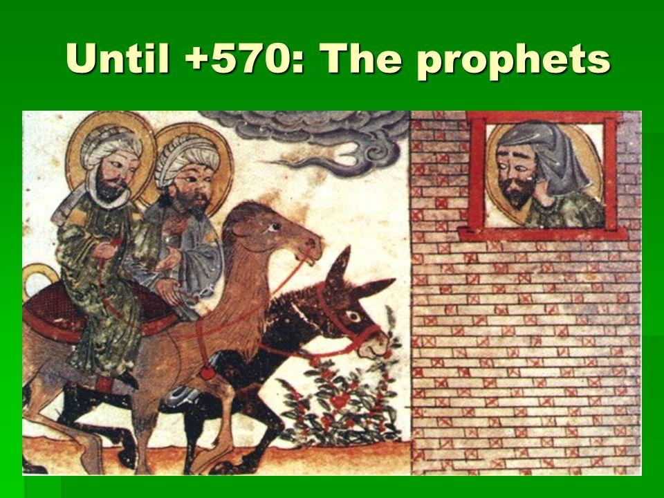 +570: Birth of Muhammad