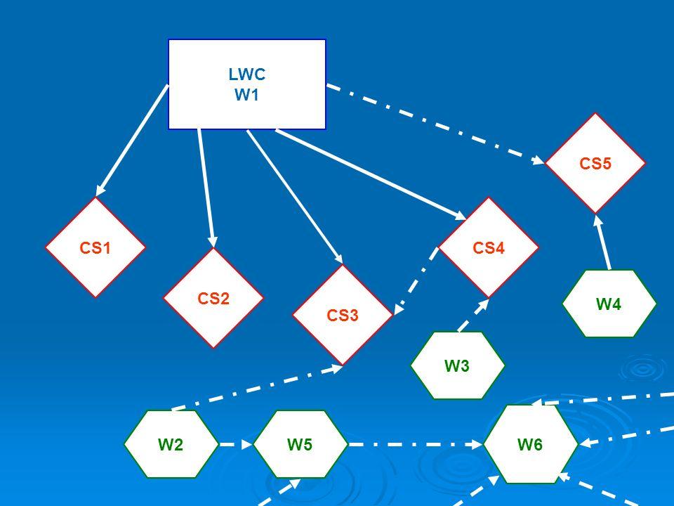 LWC W1 CS1 CS3 CS5 CS4 W2 W3 CS2 W4 W5 W6