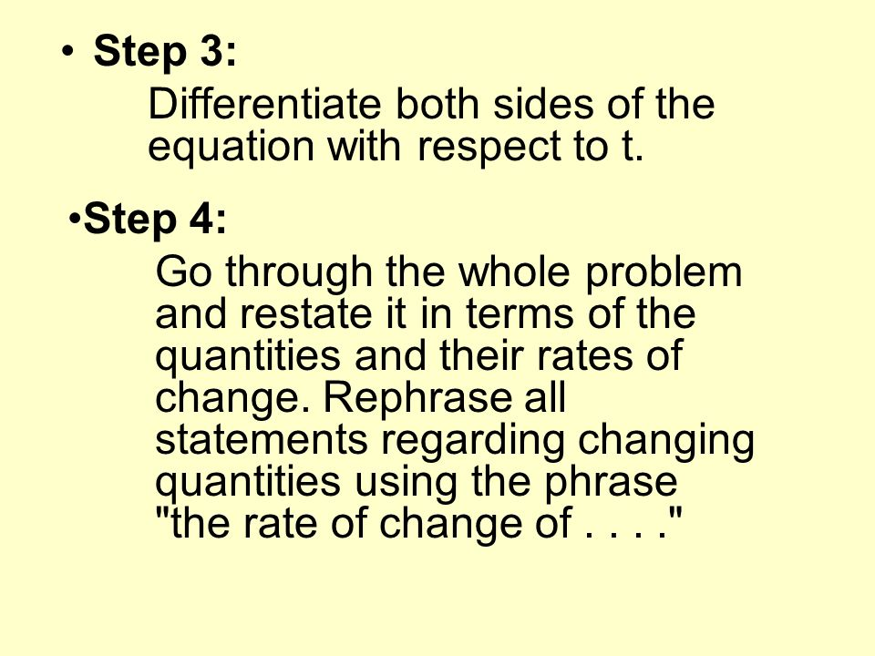 Step 3: Differentiate both sides of the equation with respect to t.
