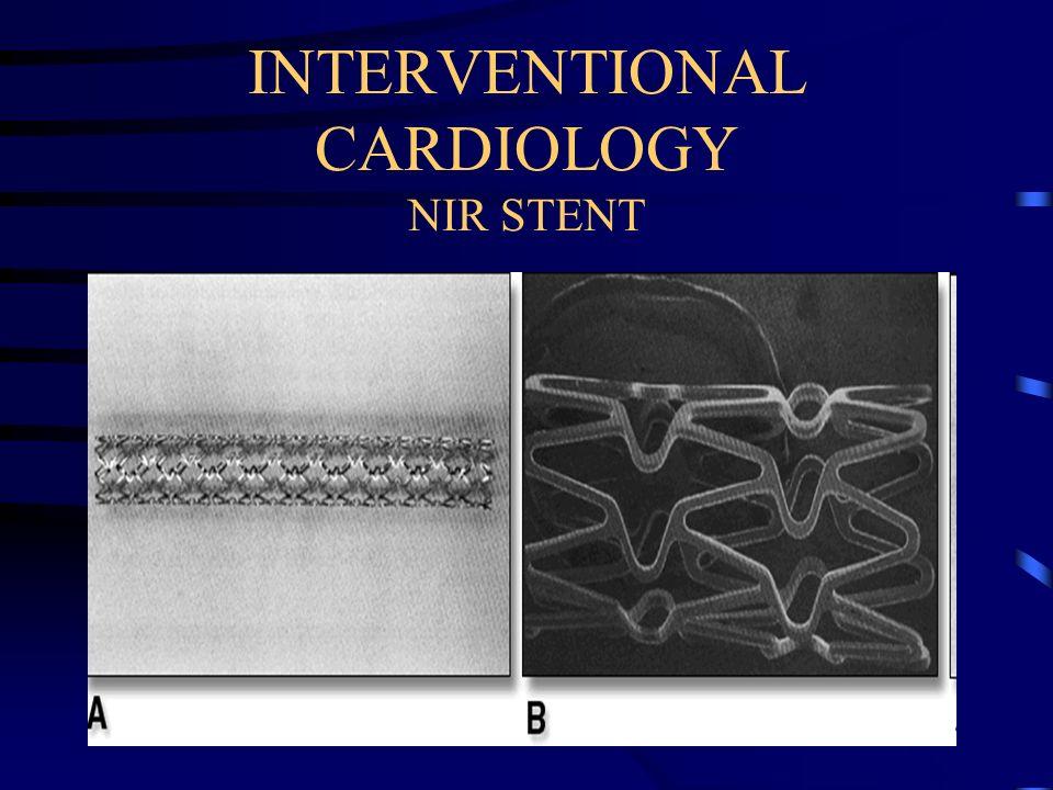 INTERVENTIONAL CARDIOLOGY NIR STENT